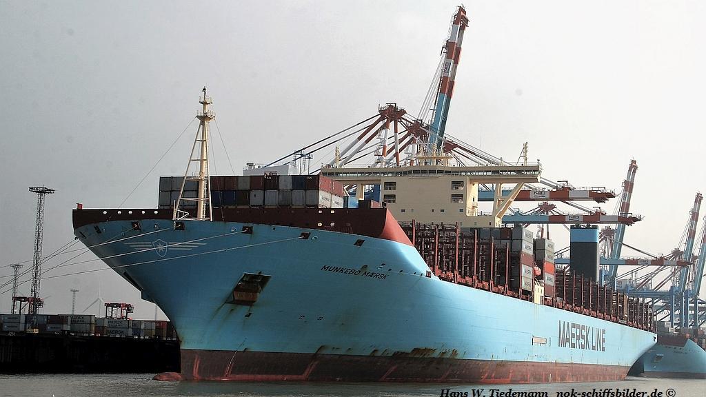 Munkebo Maersk, DIS, -14, 194.849 gt - Bhv 29.09.2017