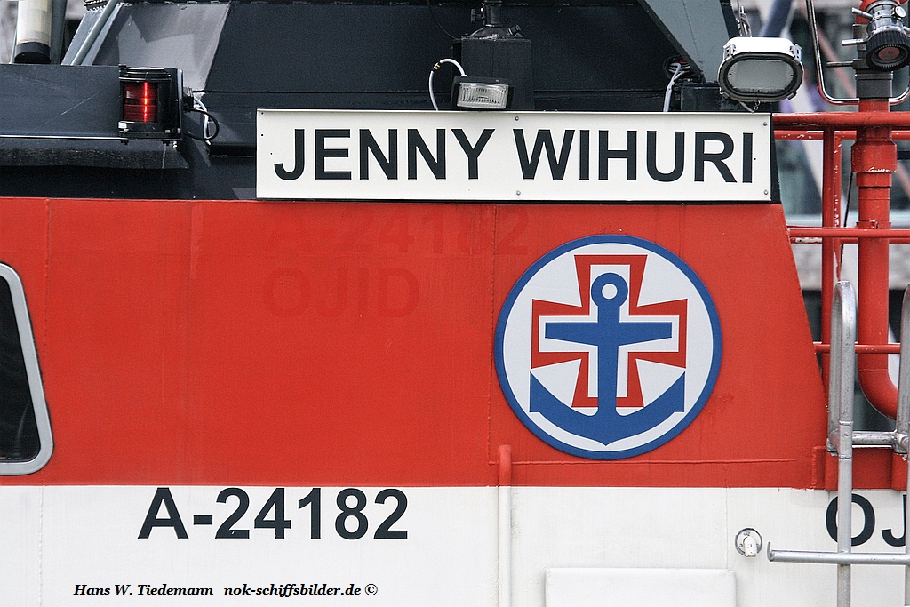 JENNY WIHURI- Wappen