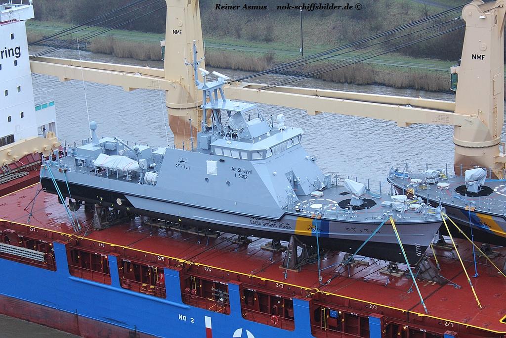 BBC PARANA -Deckcargo SULAYYIL L 5302