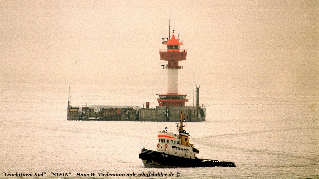 Leuchtturm Kiel- Lotsenversetzer STEIN