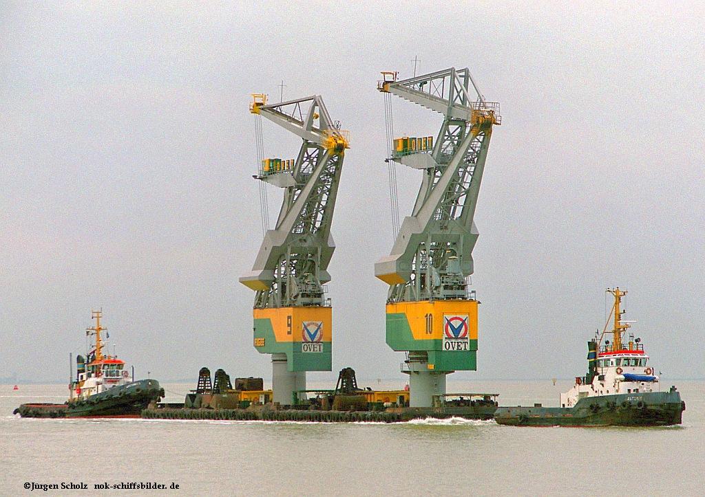ANTON V mit Barge & WESTHINDE 3