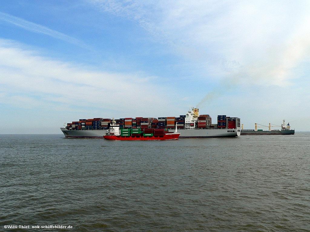 Elbe bei Cuxhaven