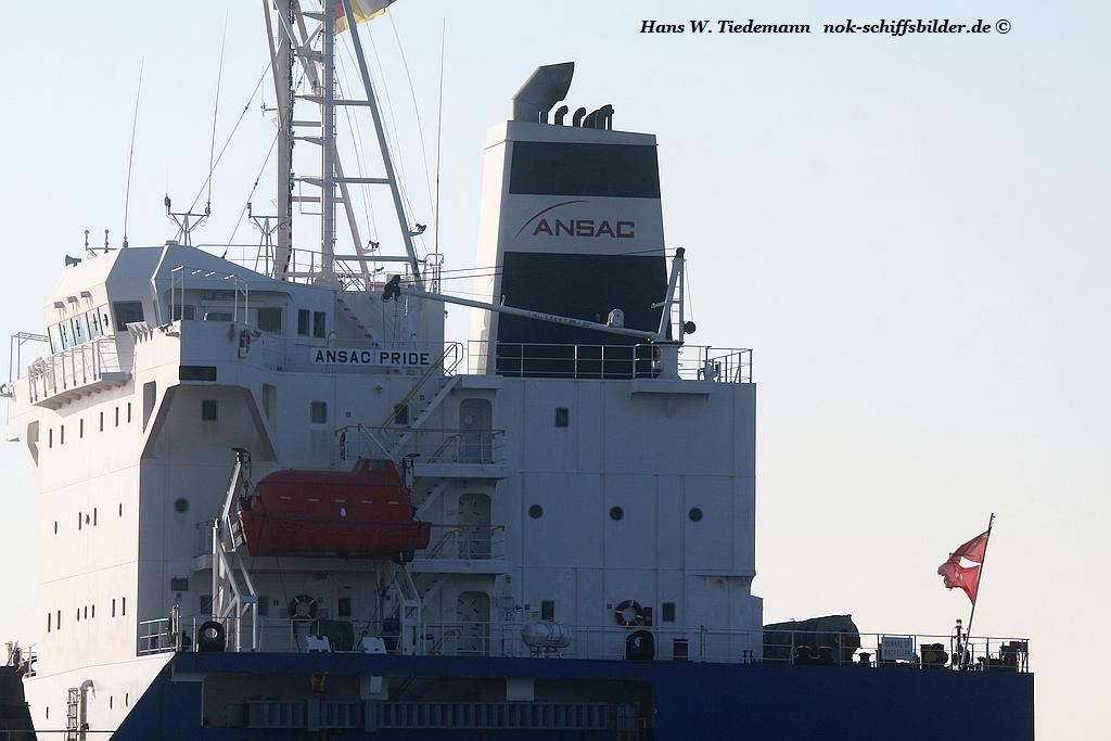 ANSAC PRIDE  -Jade Bulkship (UNI SHIPS)