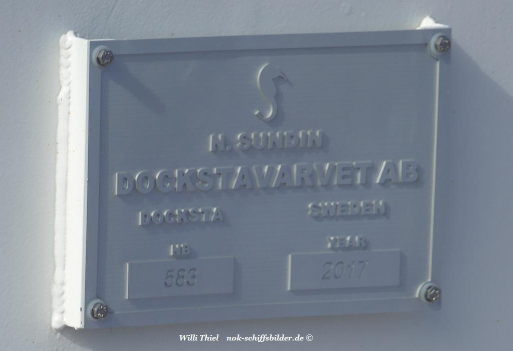 DITHMARSCHEN  Werftschild