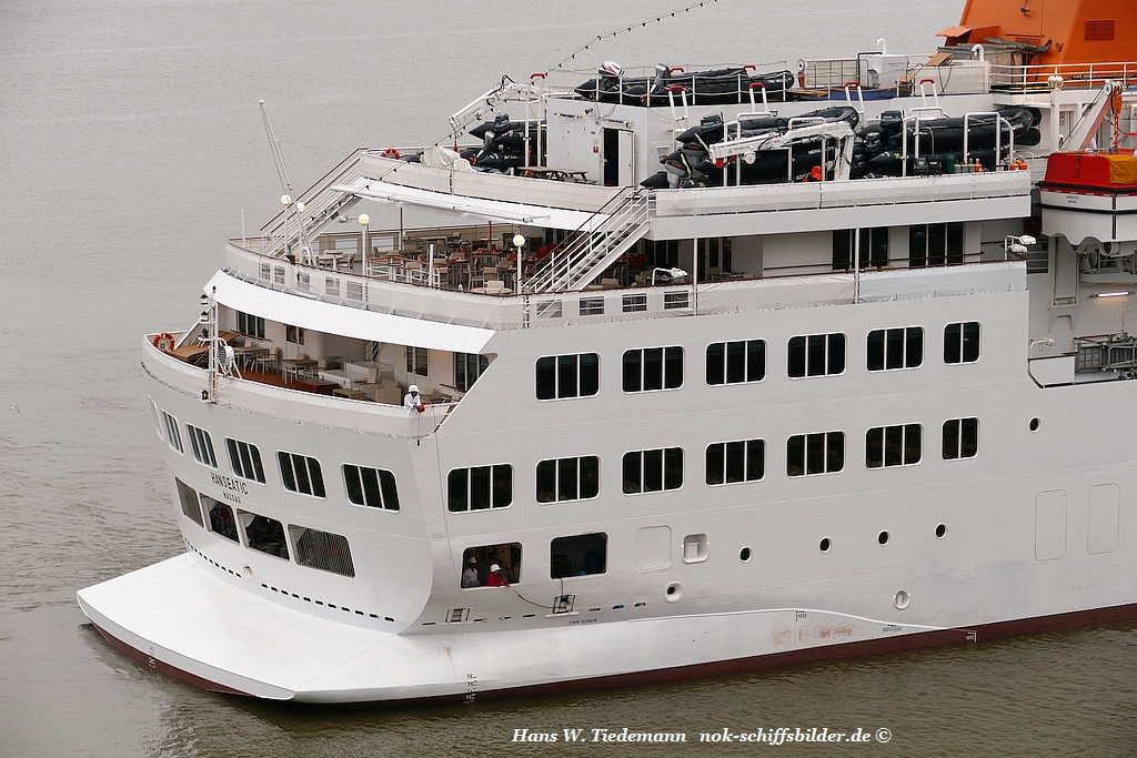 HANSEATIC -  Achterschiff