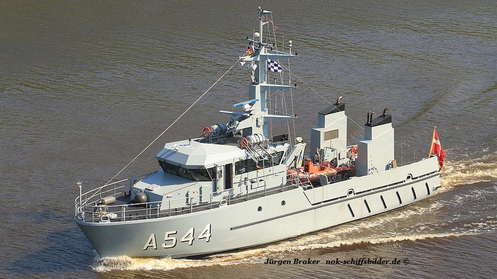 HDMS ERTHOLM A543