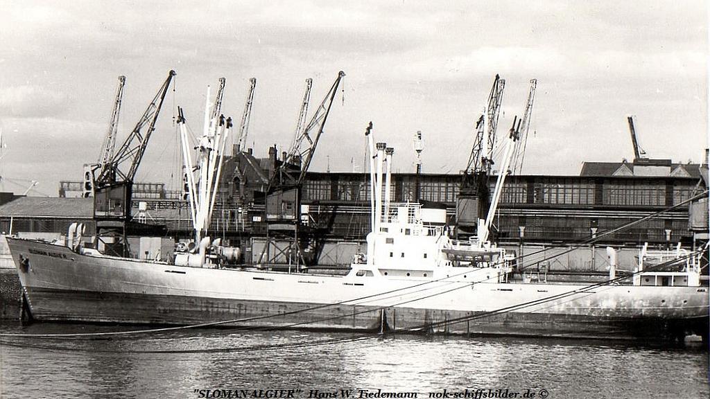 Sloman Algier, DHMJ, -51, Dt.W., Hbg, 2.214 BRT - 1968 Hbg KaiWH.jpg