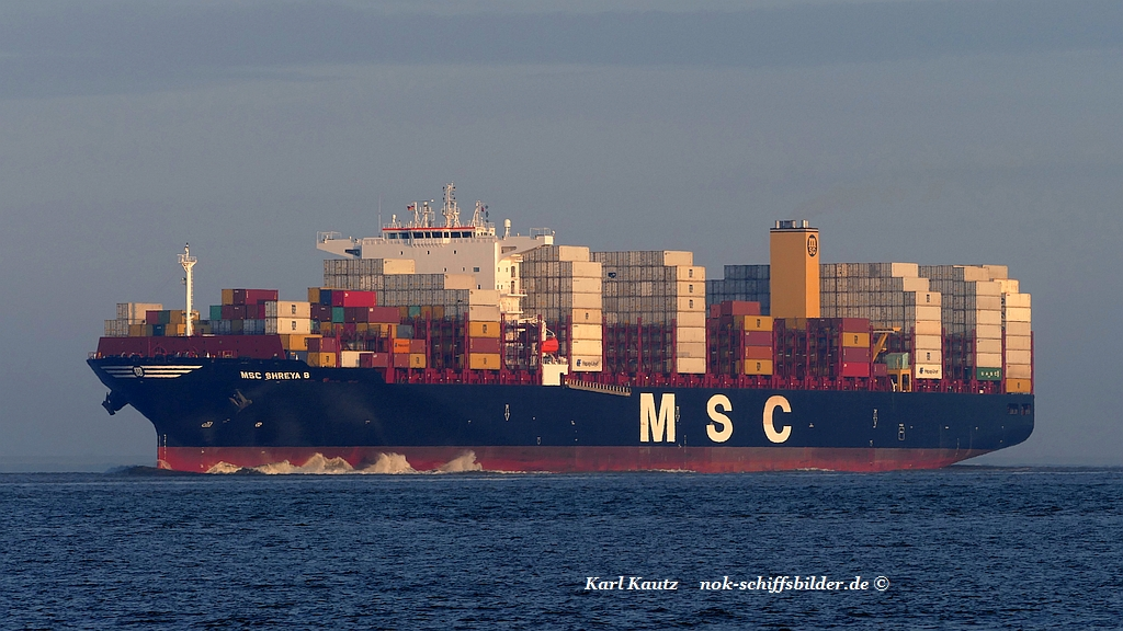 MSC SHREYA B