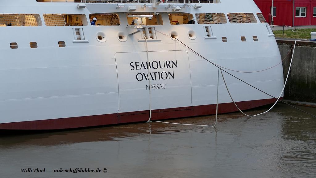 SEABOURN OVATION ... Seemanschaft