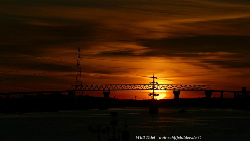 NOK- Hochbrücke Brunsbüttel