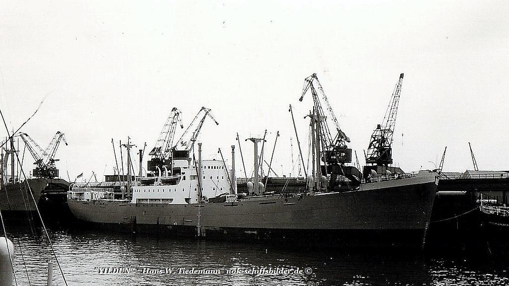 Yildun, DNCT, -50 Burntisland - 1969 HB Überseehafen
