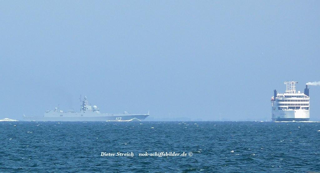 Admiral Gorschkov trifft  Schleswig-Holstein