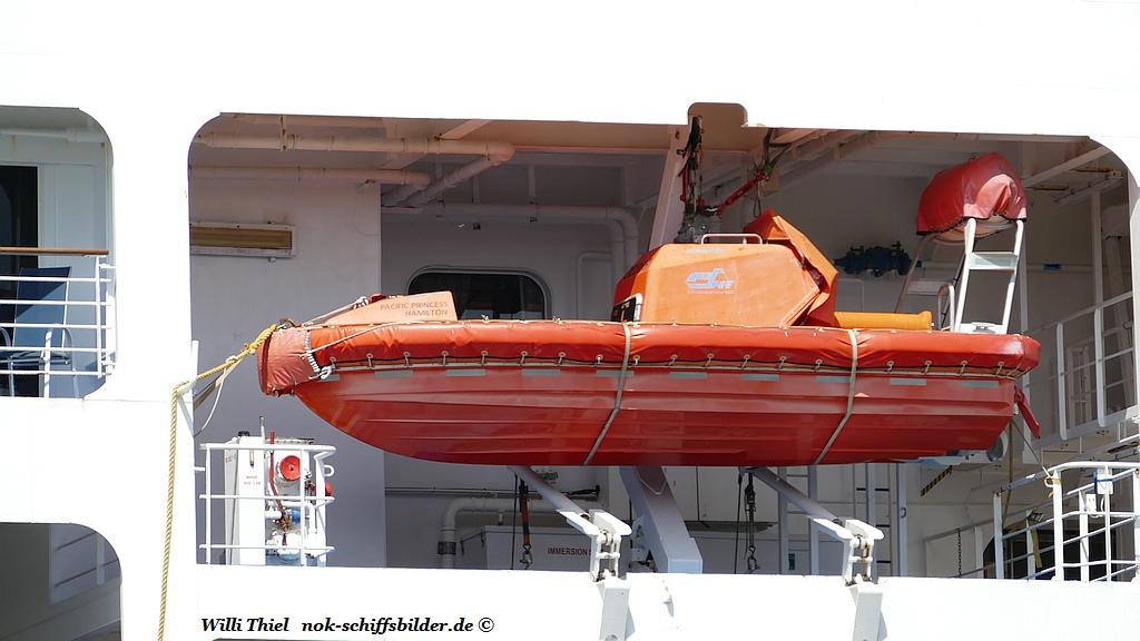 PACIFIC PRINCESS - Speedboot BB