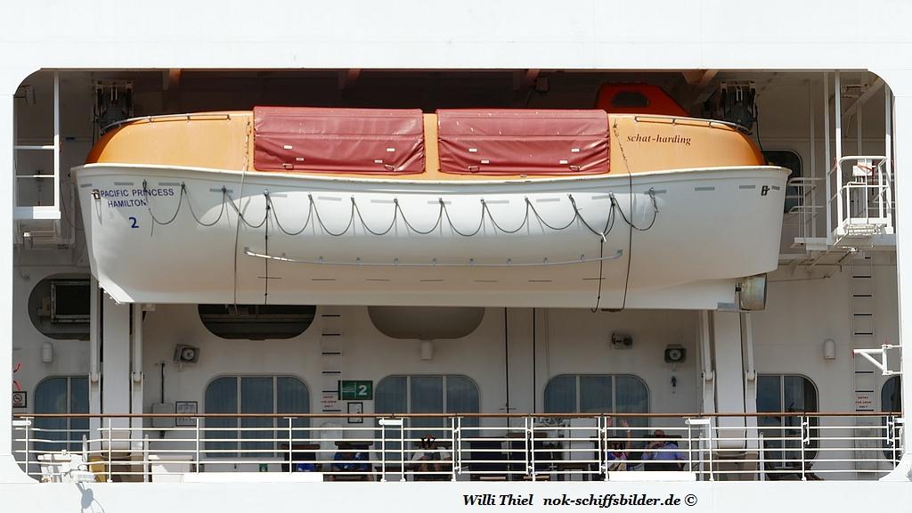 PACIFIC PRINCESS  -   Rettungsboot N° 2