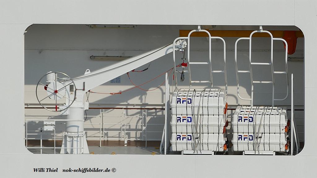 MSC PREZIOSA -Rettungsmittel