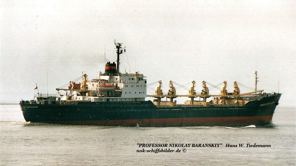 Professor Nikolay Baranskiy, USSR, -69, DDR, IMO 7006481 - 29.04.89 Bhv.jpg