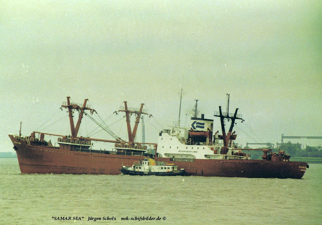 SAMAR SEA