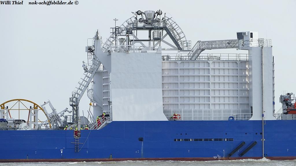 NKT  VICTORIA-Kabelbehälter für Seekabel