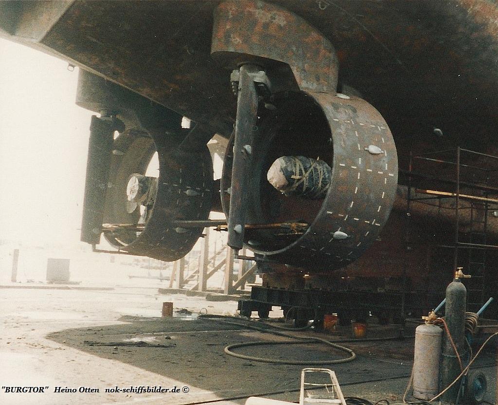BURGTOR -Verstellpropeller  Service