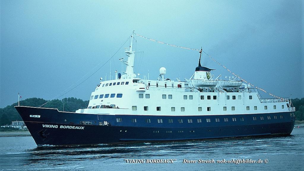 "Viking Bordeaux "" ex Bremerhaven IMO 5051365 auslaufend Travemünde"