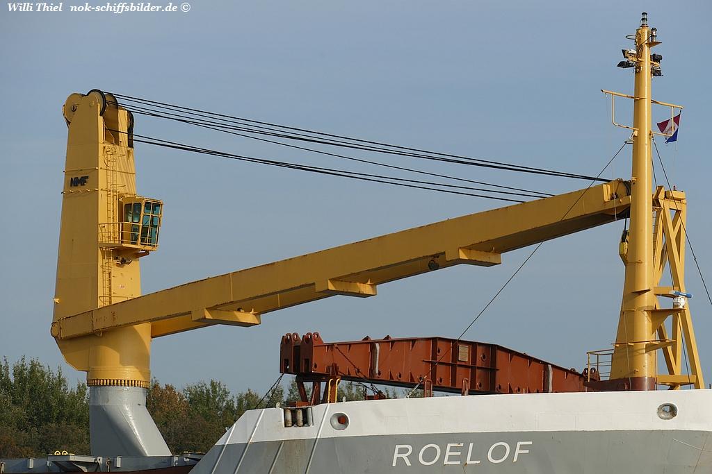 ROELOF  -Vormast + Kran