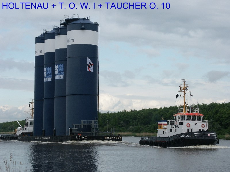 HOLTENAU + T. O. W. I + TAUCHER O. WULF 10