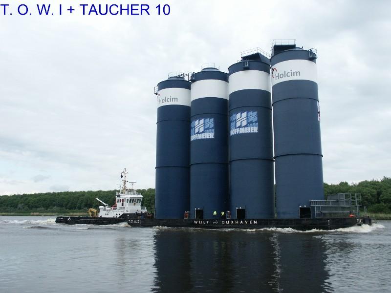 T. O. W. I + TAUCHER O. WULF 10