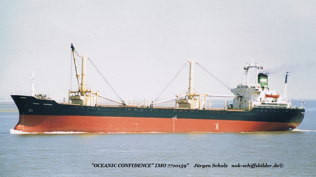 OCEANIC CONFIDENCE - IMO 7710159 Elbe Cux 15.06.1986.jpg