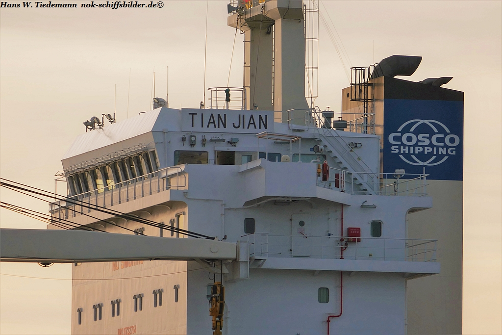 TIAN JIAN - 	COSCO SHIPPING