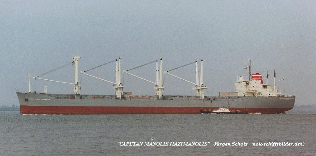 CAPETAN MANOLIS HAZIMANOLIS